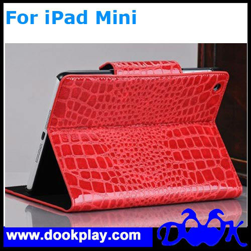 Crocodile Case For iPad Mini Flip Leather Case
