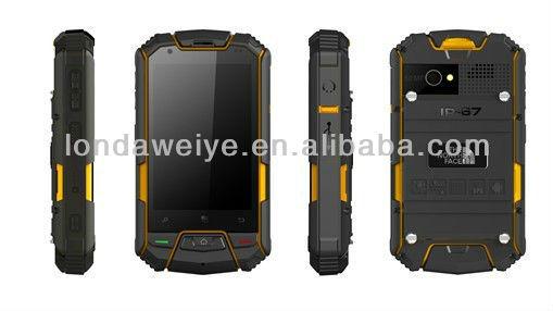 Waterproof smartphone out door sport mobile phone