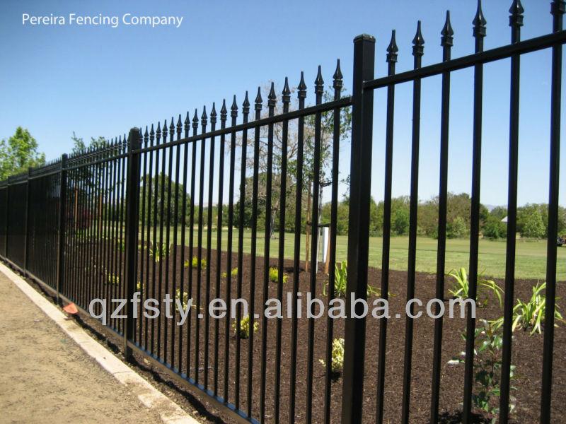 Garden Iron Fence Panel