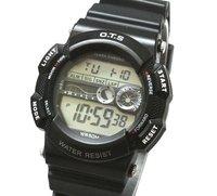 Наручные часы Diving Luminous Black Sport Style Digital Men Man Wirst Watch rubber Band 50M Deeo waterproof 012