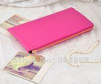 Смешанная мода женщин Бумажник пу кожаный кошелек монеты кошельки 6 цветов