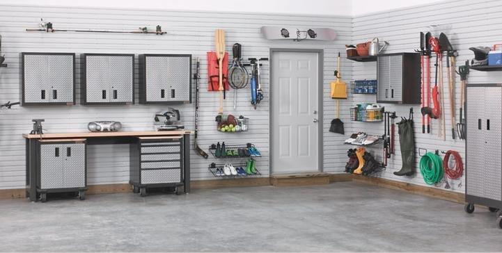 Slatwall porte - tournevis pour garage système de stockage ...