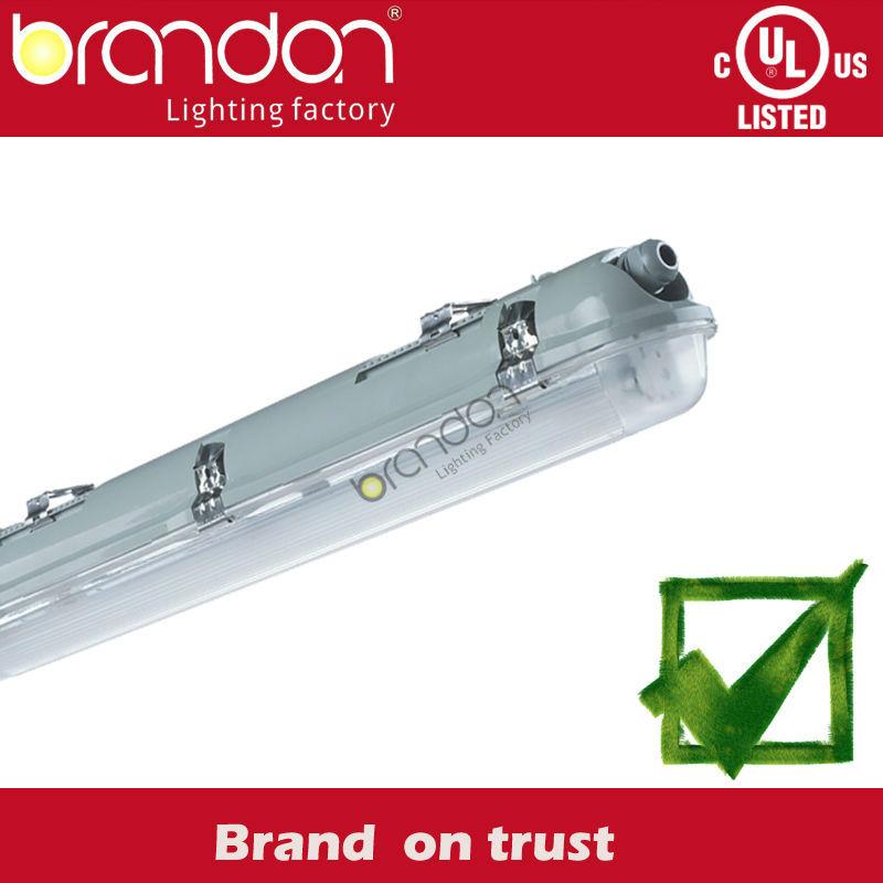 Garage Lighting Fluorescent Vs Led: T8 Waterproof Industrial Fluorescent Light Fixtures Ip65