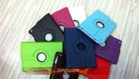 360 degree Rotation pu leather case for iPad Mini,For Apple iPad Mini 360 Degree Rotate / Rotatable Leather CaseFree shipping
