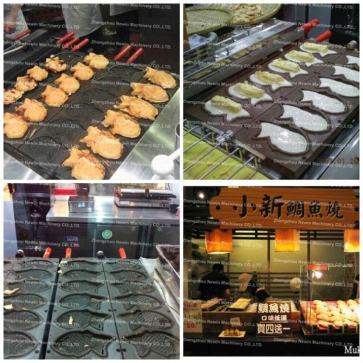 Gas Taiyaki Waffle Maker