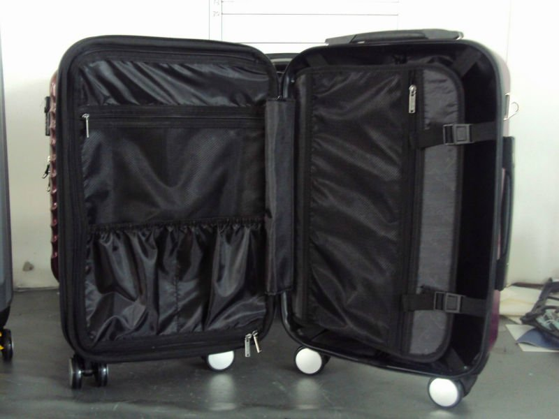 alibaba china supplier hot new products for 2015 !!! pc abs girls sky travel luggage