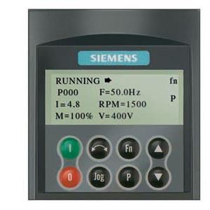 Siemens Micromaster 4 operator panel 6SE6400-0AP00-0AA1