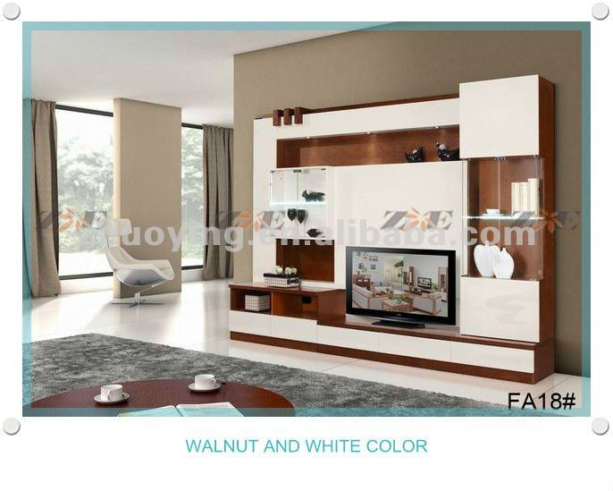 living room lcd tv stand wooden design fa18b view living room lcd tv