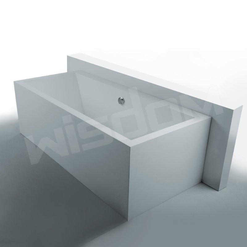 Surface solide corian baignoire en pierre fabricant wd6541 for Petit baignoire pas cher
