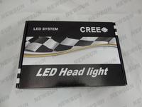 Система освещения 50W Cree led Car Fog Led Headlight Lamp 9007 socket Super Bright White Color CREE CXA1512 Chips 9007 Headlight fast shipping
