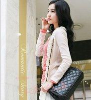 Сумка через плечо FLYING BIRDS 2012 Hot Sale High Quality PU Leather Fashion Women Lingge Handbag Unique Ladys Embroidered Bag WQ1003