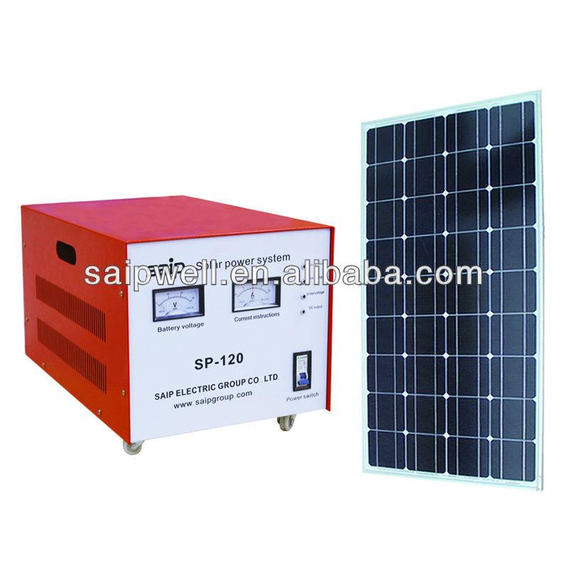 Portable AC/DC Solar Power Generator 200W