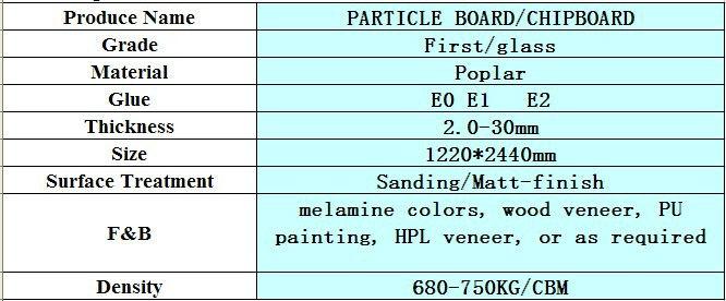 wood grain veneer faced particle board,16mm chipboard