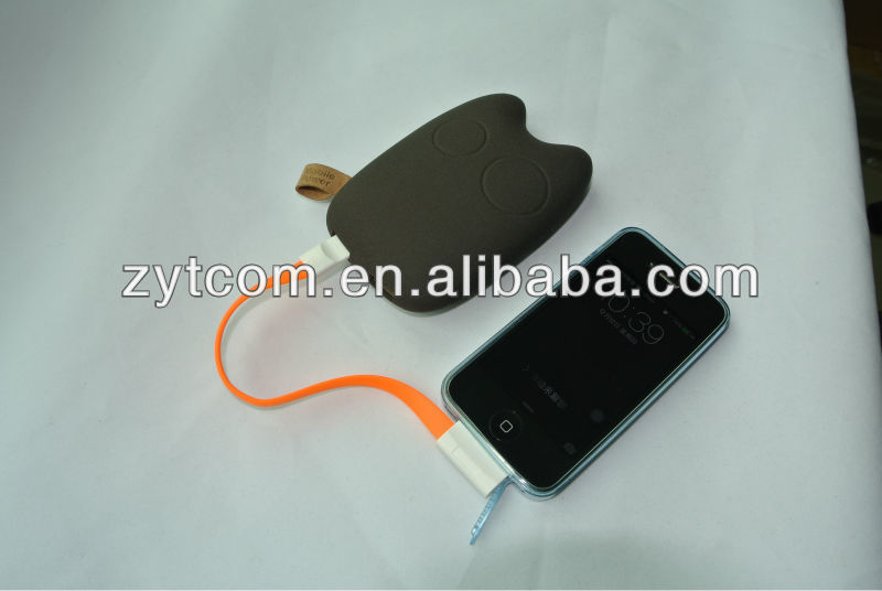 Mobile phone charger, Totoro power bank 7800mah for 2014 new products