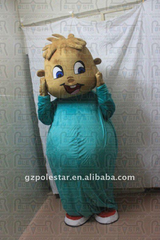 Alvin Chipmunks Costume Chipmunk Alvin Mascot Costume