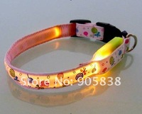 Ошейники и Поводки для собак New Product! The Colorful flollipops Series LED Dog Collar TZ-PET3600 Flashing Dog Collar.MOQ 5 Pcs