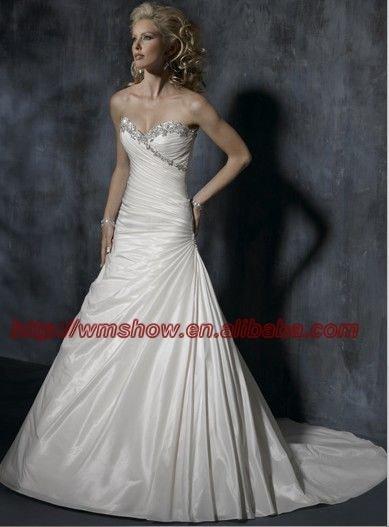 Latest Design Sweetheart Pakistani Wedding Dresses