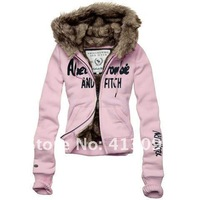 Женские толстовки и Кофты 1pcs/lot Brand New Women's Sweater Hoodies & Sweatshirts Jacket Coat Size S, M, L, XL, 7colors.STORE NO 413092