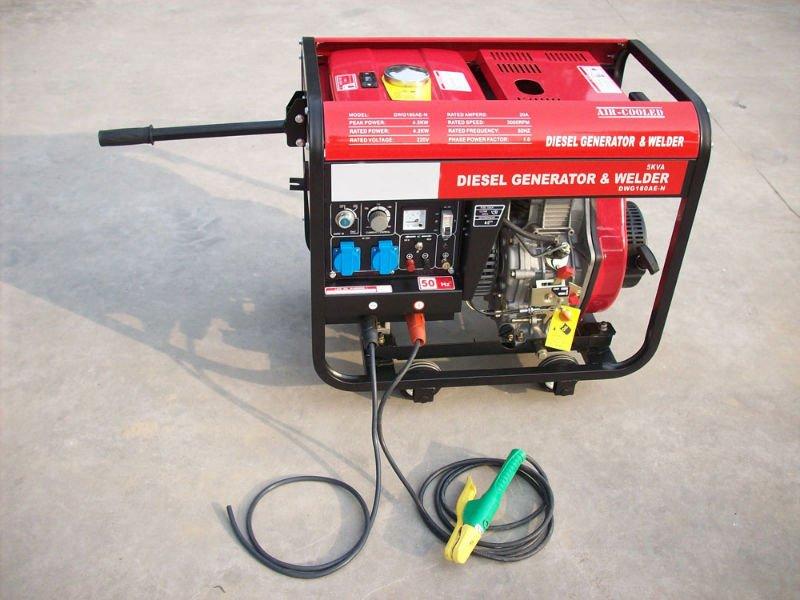 5kw diesel welder generator
