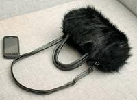 Сумка Personalized Brand Designal Fashion Women Lady Girl Wool Fur Noble Handbag Bag, Clutch bags Shoulder Bag