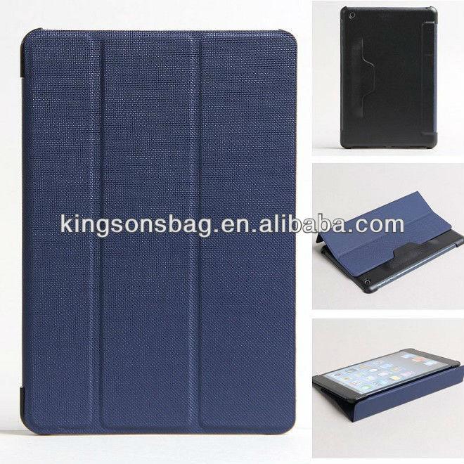 2014 fashion PU case for Ipad mini 2, case for Ipad air