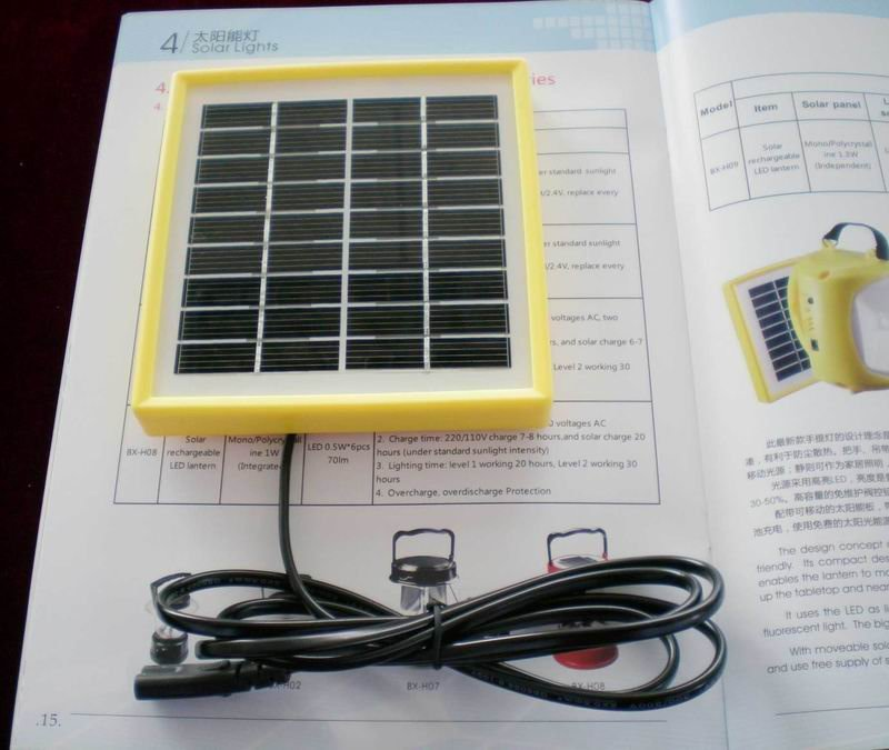 2014 New 1.5W Small Solar Panel For Solar Light