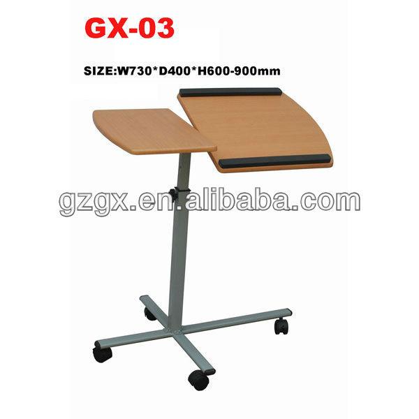 Gx-03 canapu00e9 main hauteur ru00e9glable table du0026#39;ordinateur portable table portative-Bureaux d ...