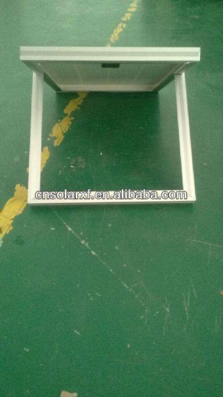 20 watt monocrystalline solar panel with stand