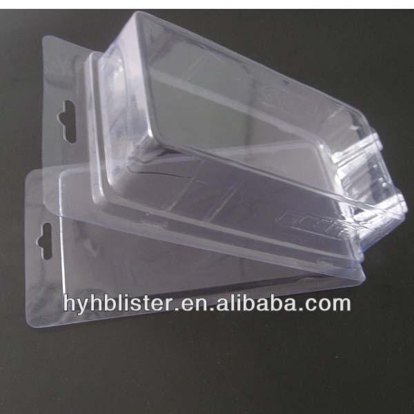 Clear custom clamshell box