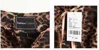 Женское платье  Leopard