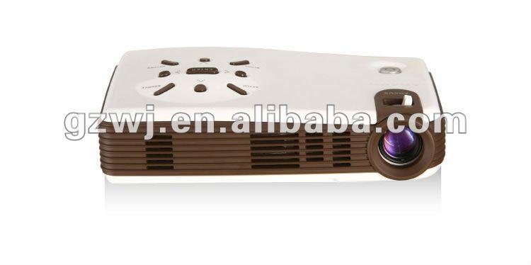 Portable Mini Projector with 1024*600 Resolution, 1080P HDMI TV