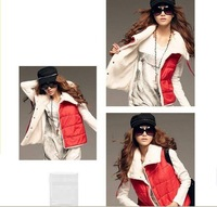 Женский жилет Lambwool ladies' fasion vest, weskit, waistcoat, or retail 3 color choose