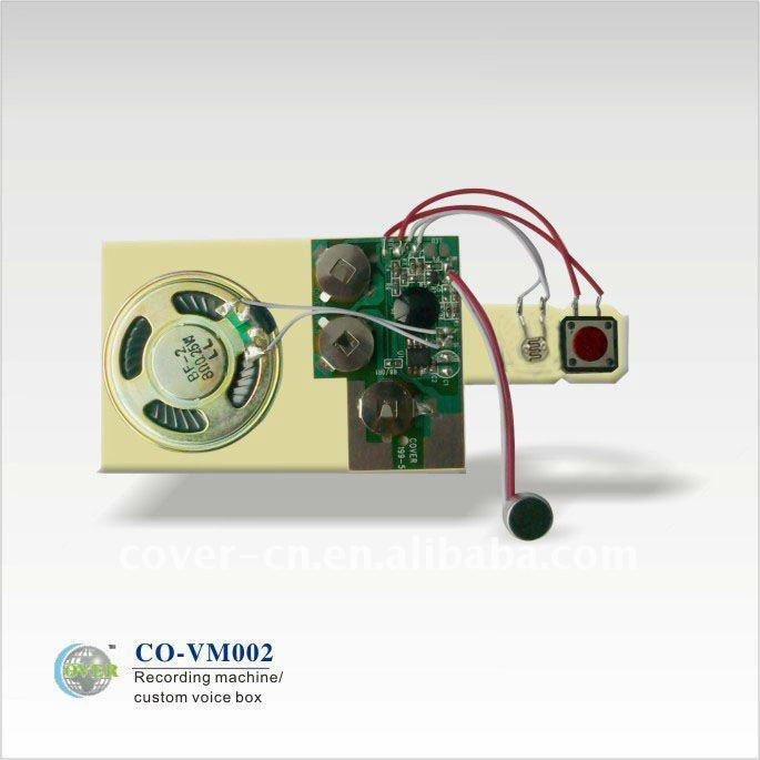 new recording motion sensor module