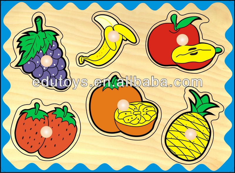 Wooden Jigsaw Puzzle - Fruit Puzzle