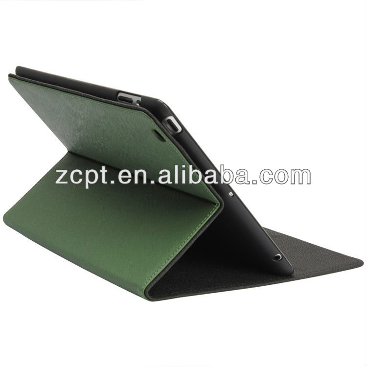 New design for ipad 4 leather case