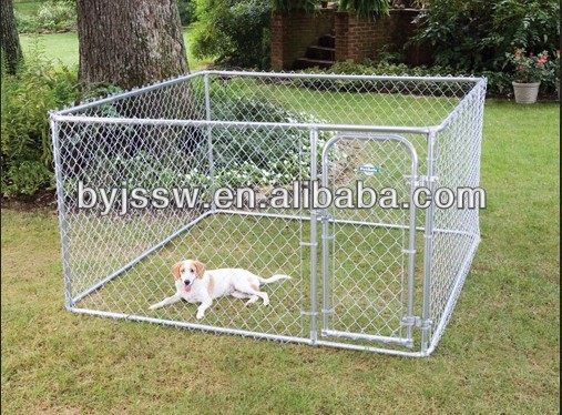 Chain Link Dog Fence Run