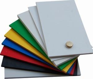 PLastic sheets PVC sheets black