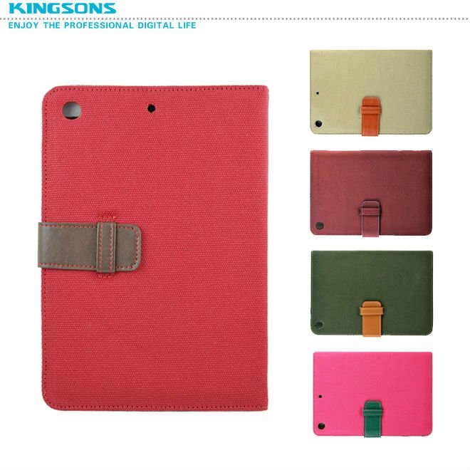 2013 Update high quality PU CASE for ipad mini