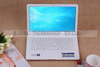 новый 13.3-дюймовый ультра тонкий ноутбук ноутбук 4g ram 320g hdd выиграть 7 wifi dual core 1,86 ГГц веб-камера Лучший ультрабук ноутбук a133