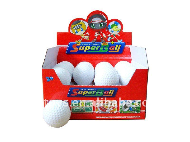 PU BALL--2.5 INCH GOLF--QS100509047