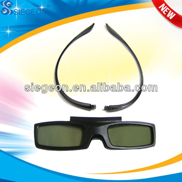 2014 New 3D Blue Film Movie Best Active 3D Glasses Hot Blue Film Movie