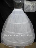 3 Hoop2 Layer  Crinoline/ Slip Petticoat Different Layers Wedding Underskirt