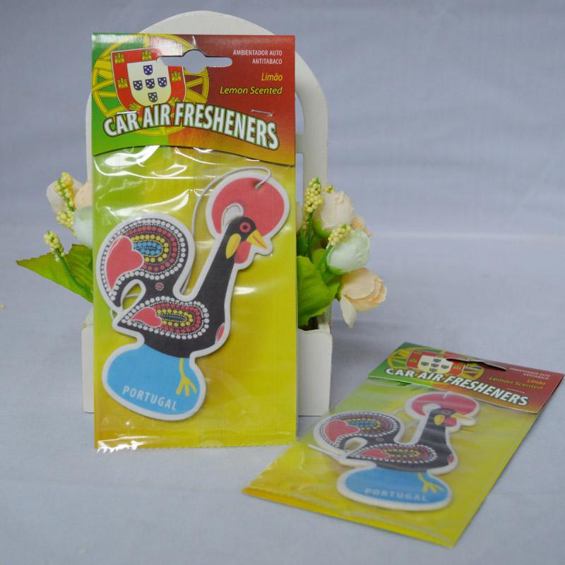 customized paper air car freshener hanging car freshener