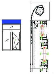 Multifonction aluminium obturateur de fen tre monobloc for Fenetre monobloc