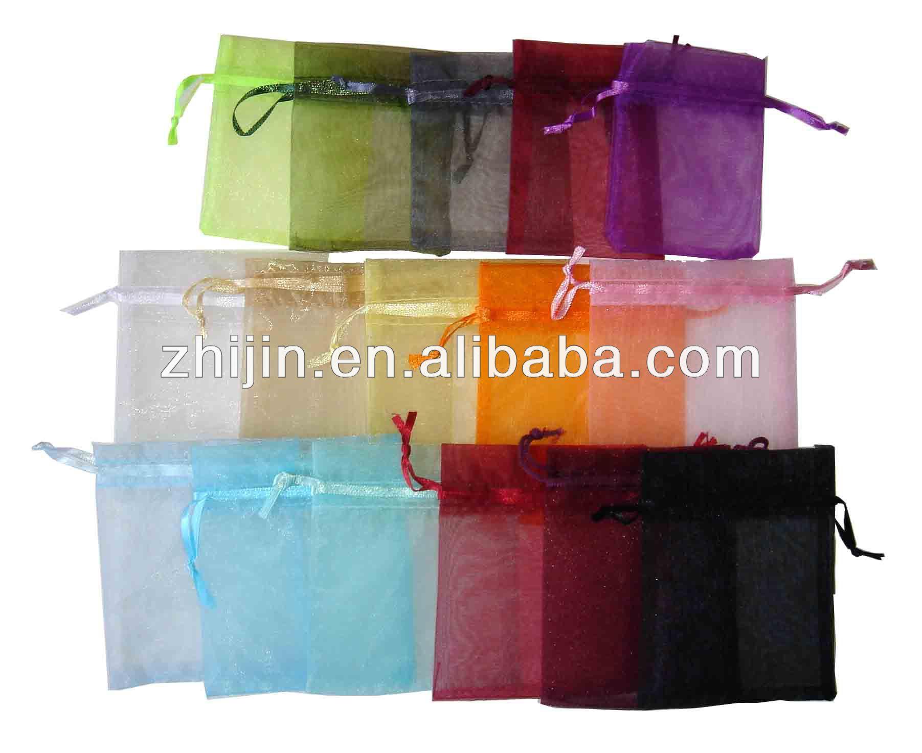 2014 fashion drawstring mesh bags
