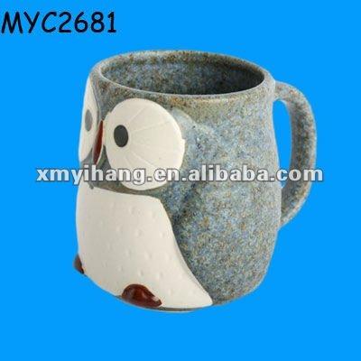 Little Owl Shaped Ceramic Cute Mug For Kids Buy Ceramic