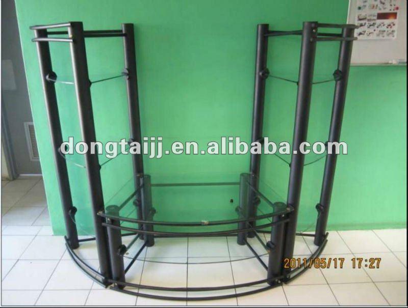 estilo muebles de la sala de tubo de acero TV estanteOtros Muebles de