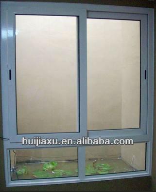 공장 직접 판매 알루미늄 프레임 및 강화 유리 창 슬라이딩 ...