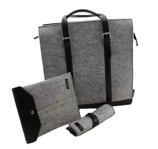 2013 nuovo design feltro di lana caso matita