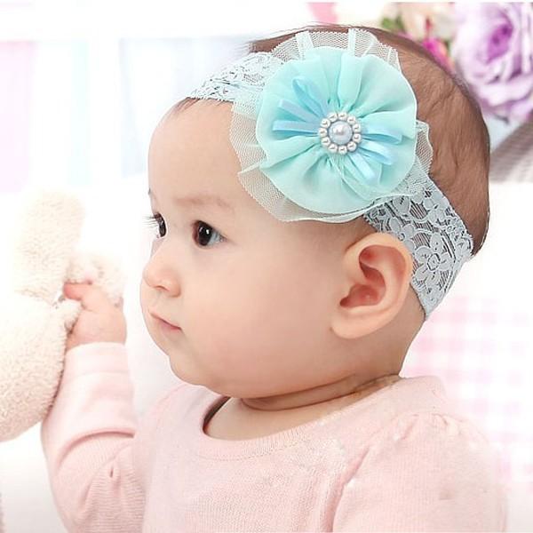 Сделать повязку на голову для девочки из кружева своими руками